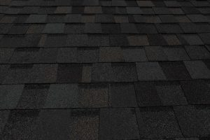 Mixed colored roofing shingles