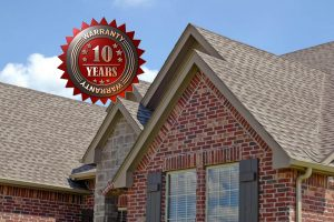 Residential Roofing 10 Year Warranty